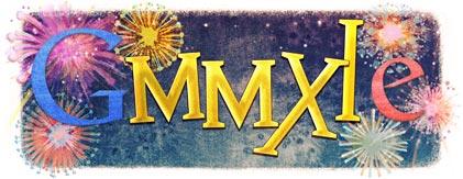 Google logo Dec 31 2010