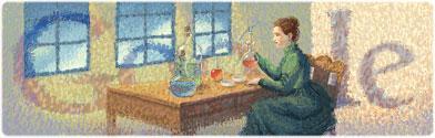 Marie Curies 144:e födelsedag