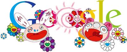 Sommarsolståndet. Doodle av Takashi Murakami, 2011.