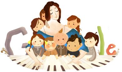 Clara Schumanns 193e födelsedag