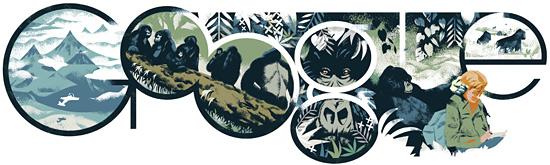 Dian Fosseys 82:a födelsedag
