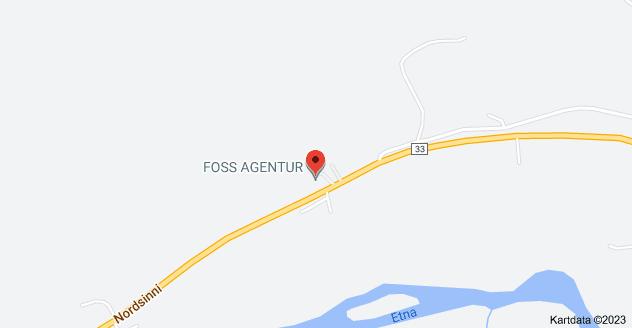 Kart over Nordsinni 1238, 2870 Dokka, Norge